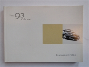 Obrázek produktu: Instrukční knížka SAAB 9-3 Cabriolet 2003