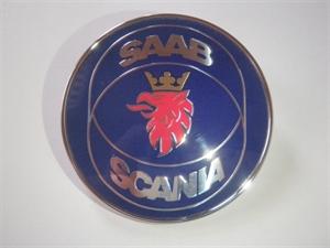 "Obrázek produktu: Emblém ""SAAB-SCANIA"" 9-5 4D - Víko zavazadlového prostoru"