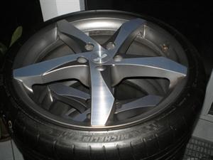 "Obrázek produktu: Disk ALU+pneu 20"" SAAB 9-5"