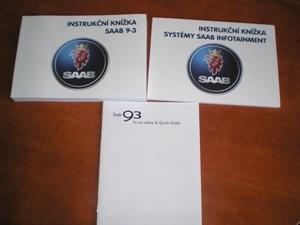 Obrázek produktu: Instrukční knížka rádio+navigace SAAB 9-3 SS - 9-3 Cabrio