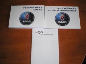 Obrázek produktu: Instrukční knížka SAAB 9-5