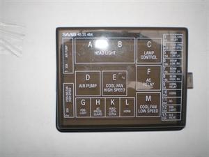 Obrázek produktu: Kryt pojistné skříňky SAAB 9000